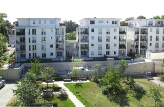 3 Stadtvillen mit Wohnungen sind als betreute Wohnungen errichtet